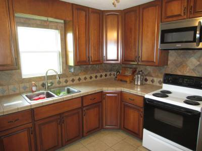 after reface of cabinets in st. louis