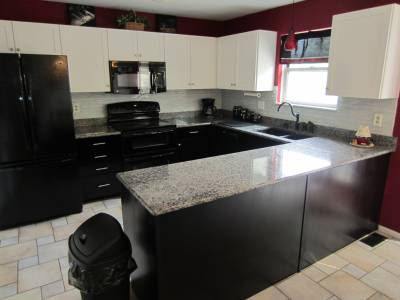 kitchen refacing project