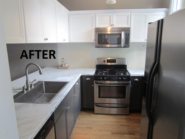 Kitchen cabinet refacing project in St.Louis, MO