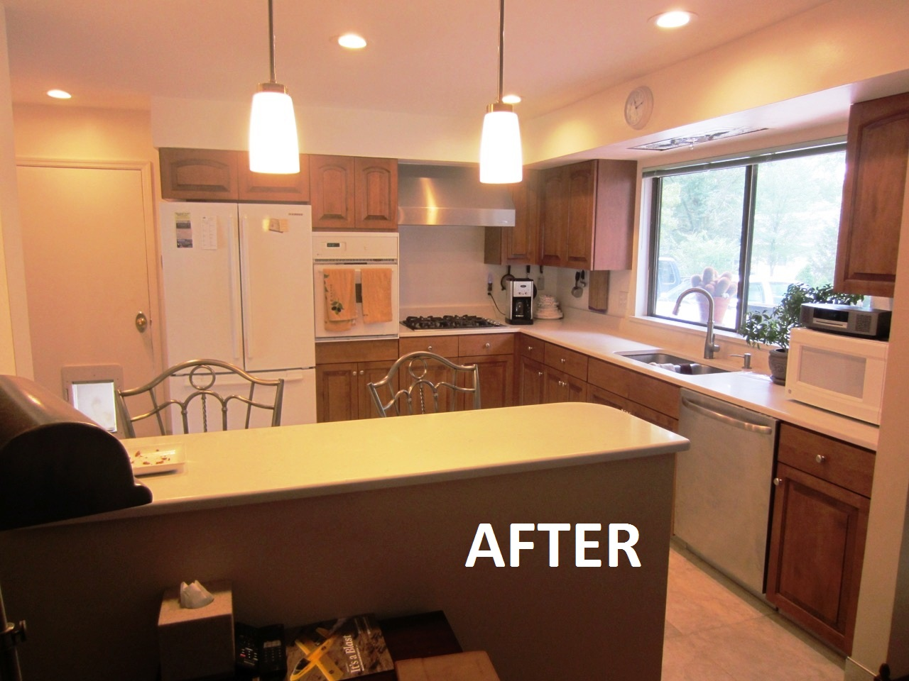 Refaced Kitchen Cabinets in Lake St. Louis, MO