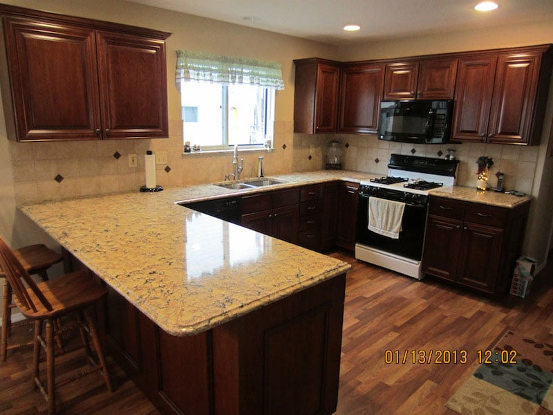 kitchen cabinets refaced in Fenton MO