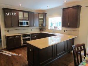 Beautiful kitchen transformation in St.Louis