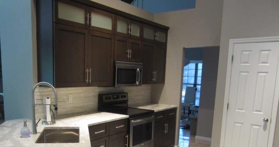 St Louis Kitchen Cabinet Glass Doors