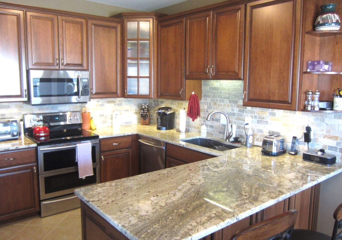 Glass Cabinet Doors Kitchen And Cabinet Refacing Projects